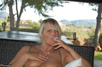 SweetSusi. Smoking On The Terrace Free Pic 5
