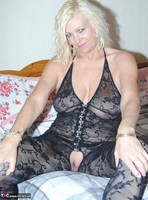 PlatinumBlonde. Black Body Stocking Free Pic 8
