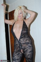 PlatinumBlonde. Black Body Stocking Free Pic 13