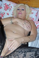 PlatinumBlonde. Black Body Stocking Free Pic 20