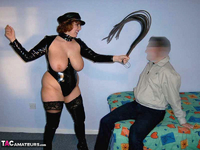 CurvyClaire. PVC Domination Fun Pt1 Free Pic 3