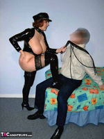 CurvyClaire. PVC Domination Fun Pt1 Free Pic 4