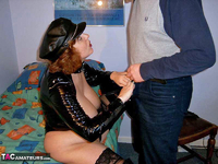 CurvyClaire. PVC Domination Fun Pt1 Free Pic 10