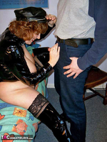 CurvyClaire. PVC Domination Fun Pt1 Free Pic 12