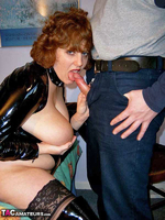 CurvyClaire. PVC Domination Fun Pt1 Free Pic 14
