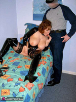CurvyClaire. PVC Domination Fun Pt1 Free Pic 18
