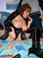 CurvyClaire. PVC Domination Fun Pt1 Free Pic 19