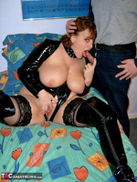 CurvyClaire. PVC Domination Fun Pt2 Free Pic 1