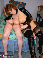 CurvyClaire. PVC Domination Fun Pt2 Free Pic 4