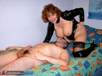 CurvyClaire. PVC Domination Fun Pt2 Free Pic 6