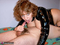 CurvyClaire. PVC Domination Fun Pt2 Free Pic 7