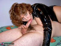 CurvyClaire. PVC Domination Fun Pt2 Free Pic 8