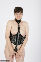 HotMilf. In The Leather Harness Free Pic 4
