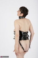 HotMilf. In The Leather Harness Free Pic 5