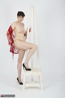 HotMilf. Red Negligee Free Pic 12