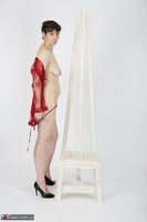 HotMilf. Red Negligee Free Pic 13