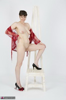 HotMilf. Red Negligee Free Pic 15