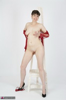 HotMilf. Red Negligee Free Pic 18