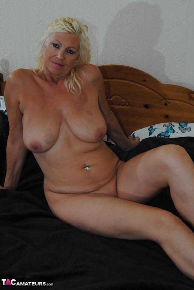 Platinum blonde mature women 12