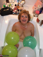 BustyBliss. Balloons Boobs Bath & Boy Toy Free Pic 17