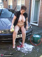 KinkyCarol. Washing The Car Free Pic 17