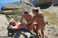 SweetSusi. Hot Threesome On The Beach Free Pic 14
