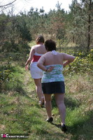 Kinky Carol. Lesbo Fun With Claire In The Woods Pt1 Free Pic 1