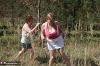 Kinky Carol. Lesbo Fun With Claire In The Woods Pt1 Free Pic 2
