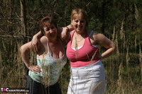 Kinky Carol. Lesbo Fun With Claire In The Woods Pt1 Free Pic 3