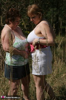 Kinky Carol. Lesbo Fun With Claire In The Woods Pt1 Free Pic 7