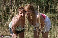 Kinky Carol. Lesbo Fun With Claire In The Woods Pt1 Free Pic 11
