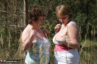 Kinky Carol. Lesbo Fun With Claire In The Woods Pt1 Free Pic 12