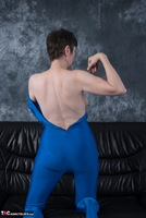 HotMilf. Blue Fun Suit Free Pic 12