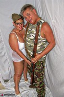 KimsAmateurs. John & Honey In The Army Free Pic 1