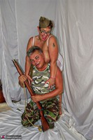 KimsAmateurs. John & Honey In The Army Free Pic 2
