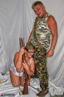 KimsAmateurs. John & Honey In The Army Free Pic 4