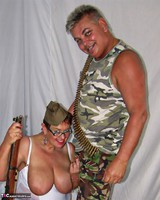 KimsAmateurs. John & Honey In The Army Free Pic 5