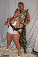 KimsAmateurs. John & Honey In The Army Free Pic 10