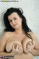 Busty Reny. Getting ready for the shower Free Pic 20