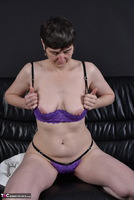 HotMilf. Purple Uplift Bra Free Pic 10