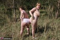 KinkyCarol. Lesbo Fun With Claire In The Woods Pt3 Free Pic 12