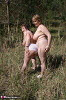 KinkyCarol. Lesbo Fun With Claire In The Woods Pt3 Free Pic 15