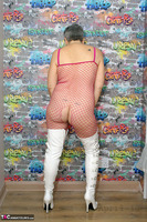 . White PVC Boots Free Pic 6