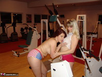 SweetSusi. Two Hot Girls In The Fitness Studio Pt1 Free Pic 4