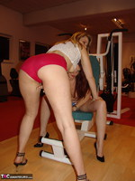 SweetSusi. Two Hot Girls In The Fitness Studio Pt1 Free Pic 19