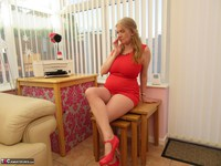 Lily May. Lily In The Red Dress Pt1 Free Pic 9