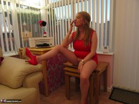 Lily May. Lily In The Red Dress Pt1 Free Pic 20