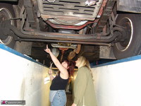 SweetSusi. In The Car Workshop Pt1 Free Pic 1