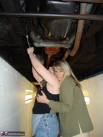 SweetSusi. In The Car Workshop Pt1 Free Pic 4