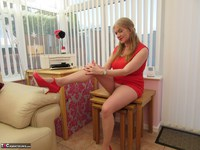 LilyMay. Lily In The Red Dress Pt2 Free Pic 5